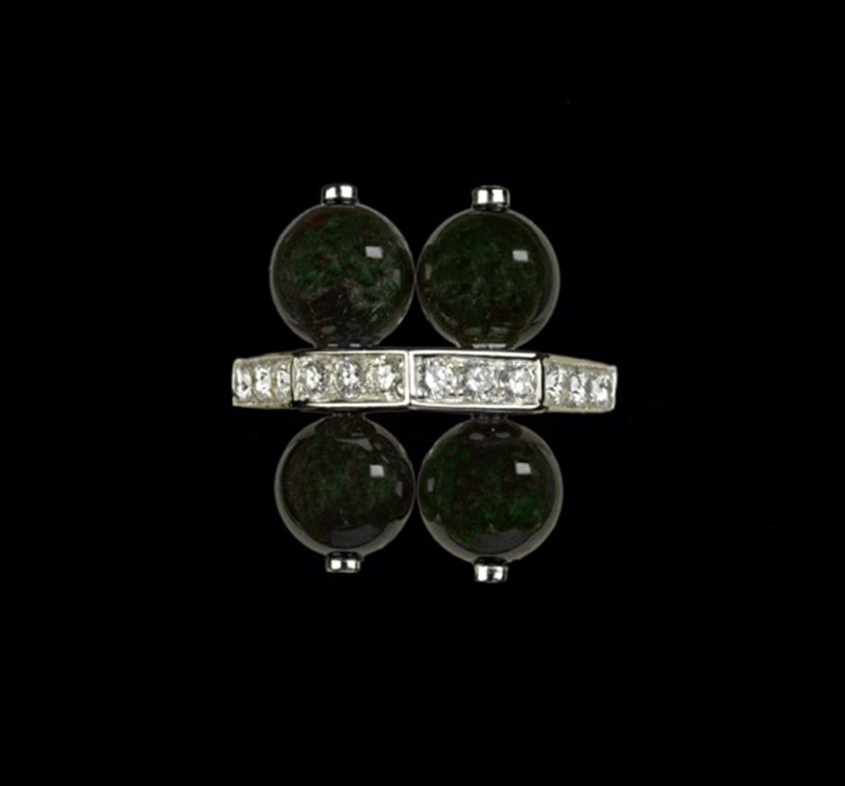 Diamond & Jadeite Ring